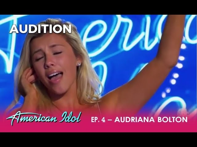 Audriana Bolton: Girl Thinks She's The NEXT Mariah Carey! REALLY? | American Idol 2018