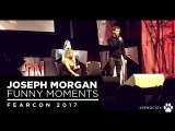 Funny Moments [Joseph Morgan at FearCon 2017] (audio only)
