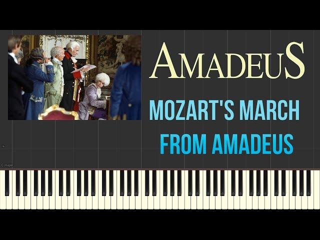 Mozart's Amadeus - Non più andrai farfallone amoroso