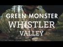 Mountain Biking Green Monster in the Whistler Valley Rock Slab after Rock Slab!