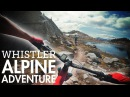 WHISTLER'S MOST SCENIC RIDE? | Mountain Biking Lord of the Squirrels in Whistler BC