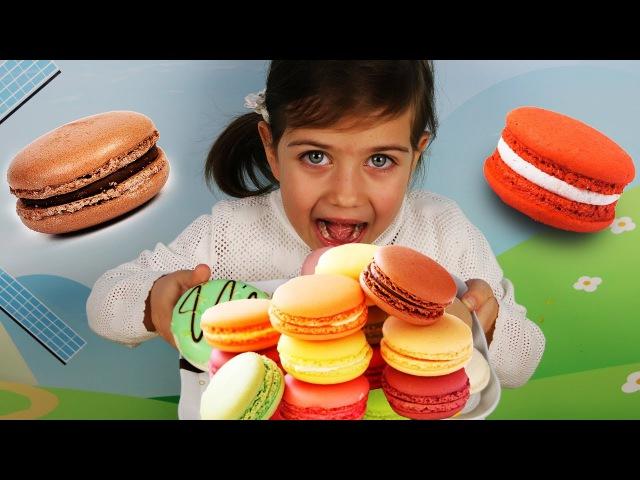 Учим Цвета на Английском вместе с Эмилюшей! Learning Colors with Funny Baby for kids! Веселая кухня