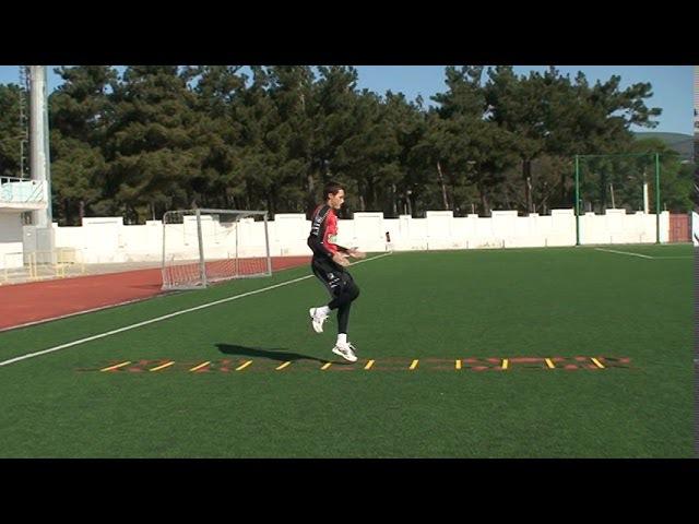 Football coaching video - soccer drill - ladder coordination (Brazil) 4