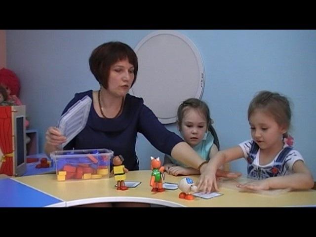 О.В.Мухаметжанова. Часть 1.Развивающие игры с блоками Дьенеша для детей 3-4 лет