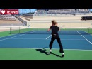 Steffi Graf Tennis Footwork | Tennis Movement - Women's Tennis WTA