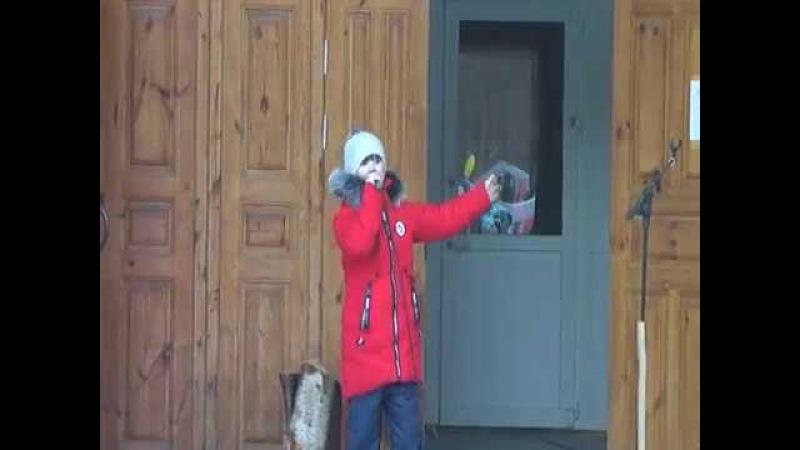 Вырасту певицей - исп. Ладная Антонина - 18.02.2018 г.
