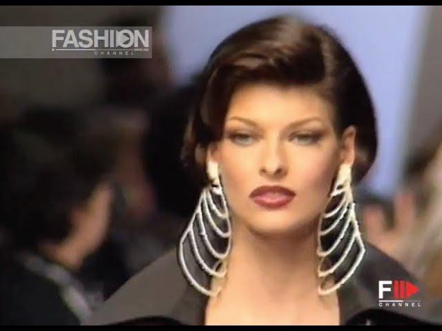 CLAUDE MONTANA Fall Winter 1992 1993 Paris - Fashion Channel