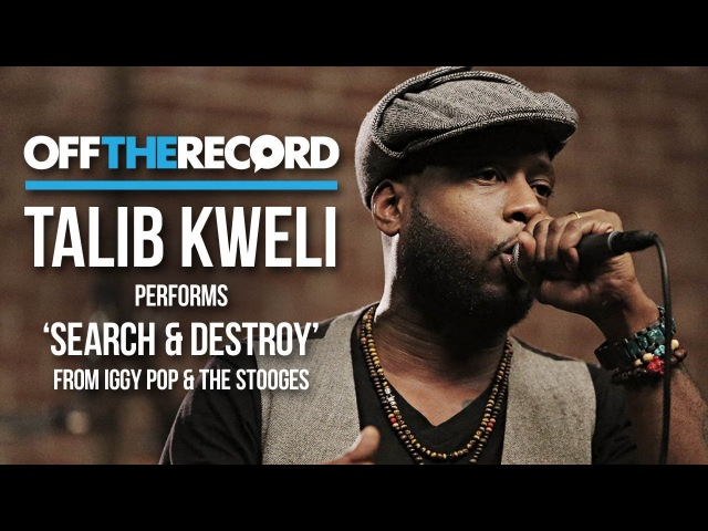 Talib Kweli Performs Search Destroy from Iggy Pop The Stooges