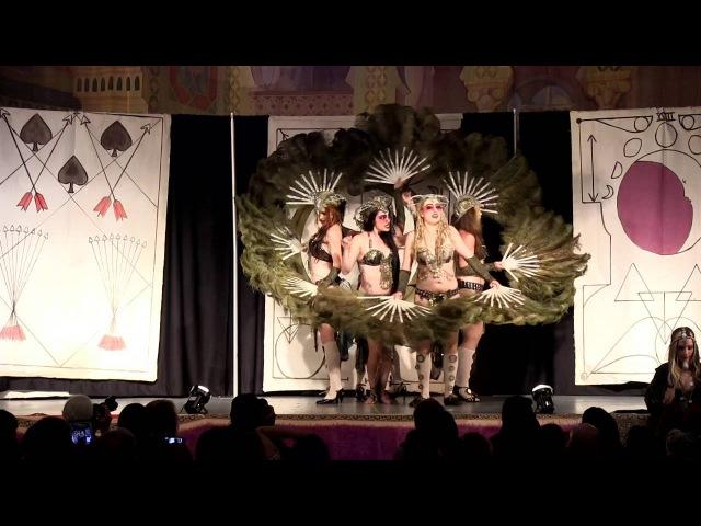 House of Tarot w Zoe Jakes at Tribal Fest 14