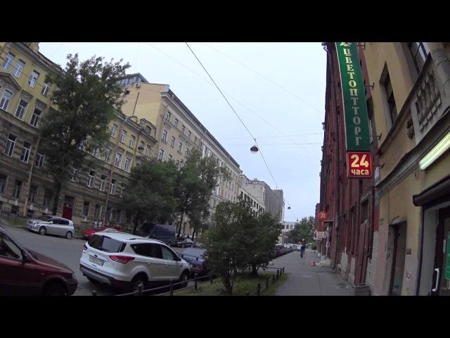 B1 Стрелка Васильевского острова Линии от Первой до Восьмой