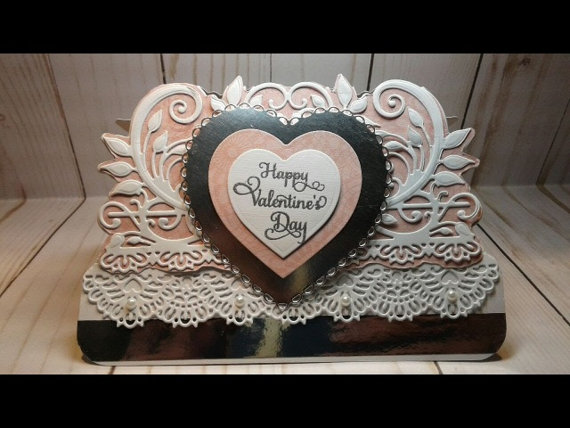 Valentines Day Card Process Video