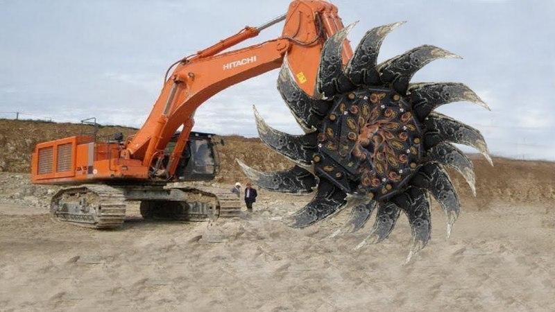 World Dangerous Monster Biggest Excavator Machines Construction Working Power