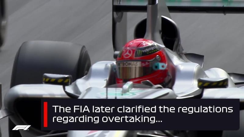 Schumacher's Opportunistic Pass on Alonso   2010 Monaco Grand Prix