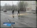 Сегодня в Мурманской области вновь выпал снег. 05.06.2018г