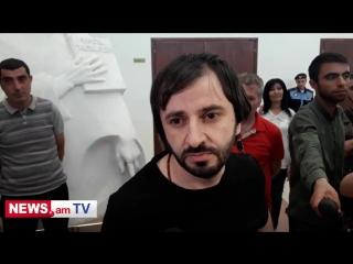 Интервью Арега Кюрегяна после освобождения