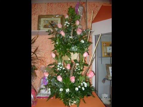Video arreglos florales de Rosas, Primaverales Floreria Del Arte