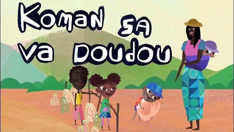 Koman sa va doudou - comptine africaine - enfant - jouer - maternelle