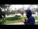 Кама Пуля показывает Кириллу Терешину, как правильно бить двоечку