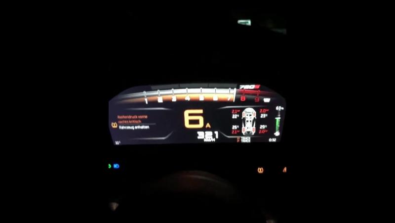 Ускорение и максимальная скорость (342 км/ч) на McLaren 720S 🔥🚀
