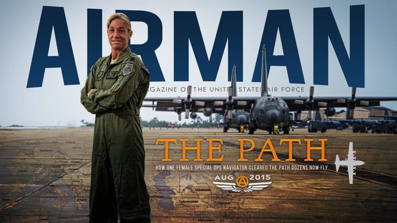 Female navigator clears path, dozens now fly