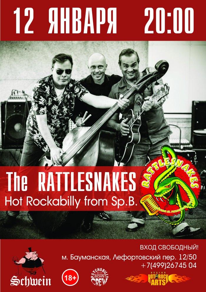 12.01 The Rattlesnakes в клубе Швайн!