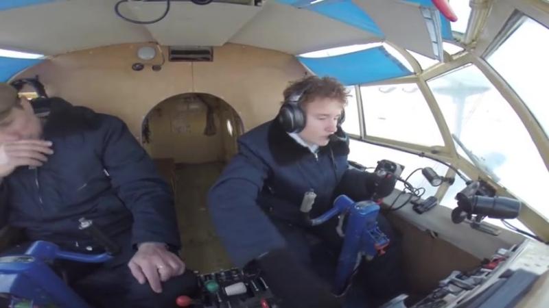 Курсант Ваня, первый самостоятельный на АН-2, Боровая-Сургут...