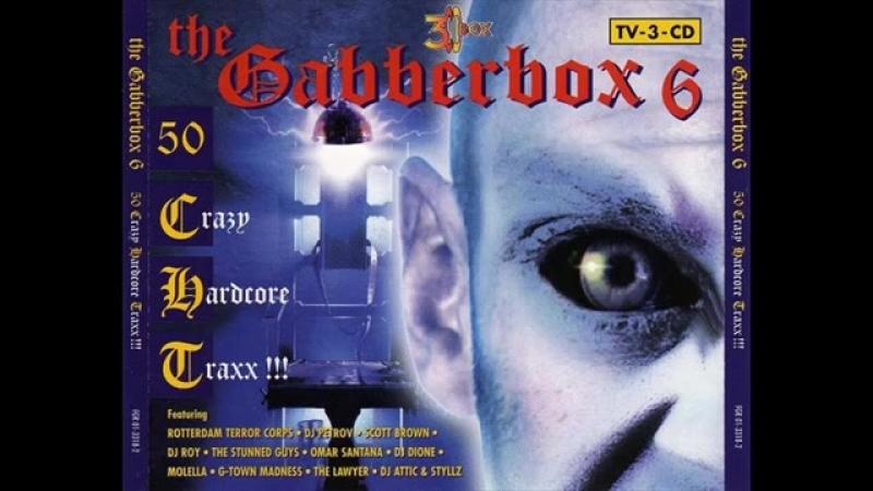 GABBERBOX VOL 6 FULL ALBUM 223 34 MIN HD HQ HIGH QUALITY 1997 50 CRAZY HARDCO