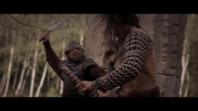 Конан-варвар (2011). Схватка в лесу