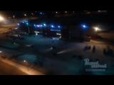 Дрифтеры шумят на парковке Магнита 15.1.2018 Ростов-на-Дону Главный