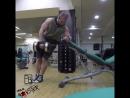 Упражнение 1 Спина Тяга гантели в наклоне боком