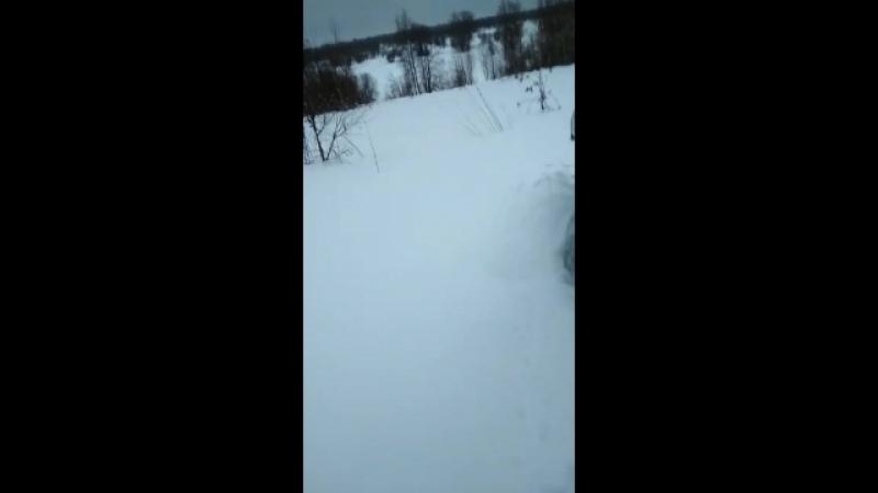 Трудный снег