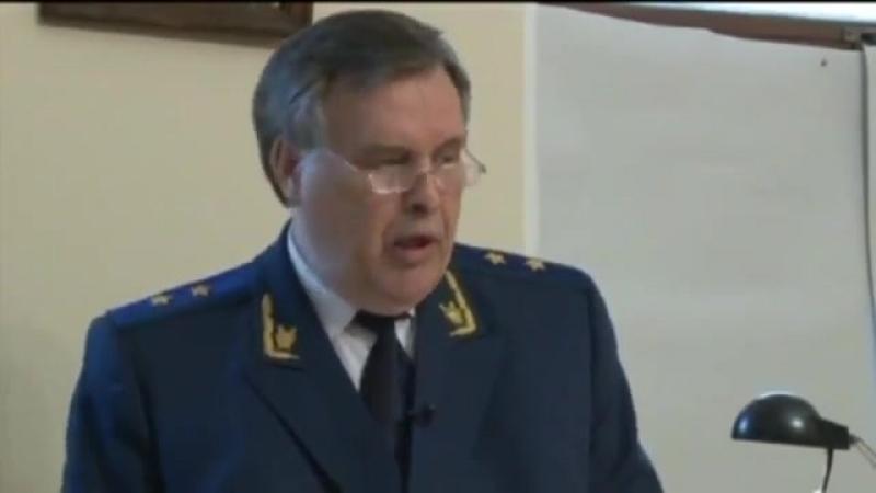 Военный трибунал над Путиным Главный обвинитель Виктор Илюхин скоропостижно скончался