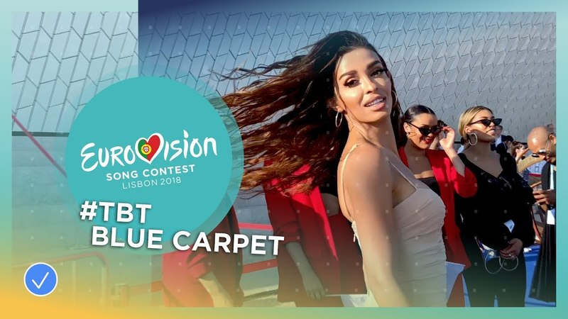 Throwback Thursday Back to the blue carpet of Eurovision 2018!