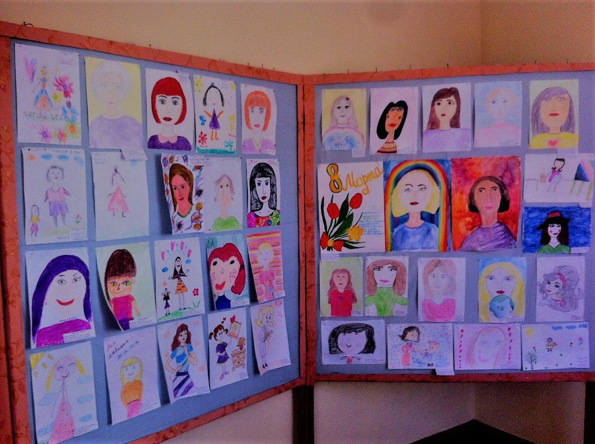 В МБОУ ДО «ЦДЮТ» г. Армянска провели конкурс-выставку рисунков