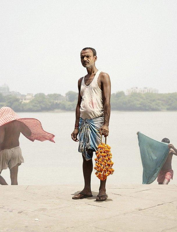 Продавцы с цветочного рынка Кена Херманна
