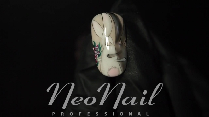Мастер-класс: дизайн ногтей Обнимашки ко Дню Святого Валентина от NeoNail