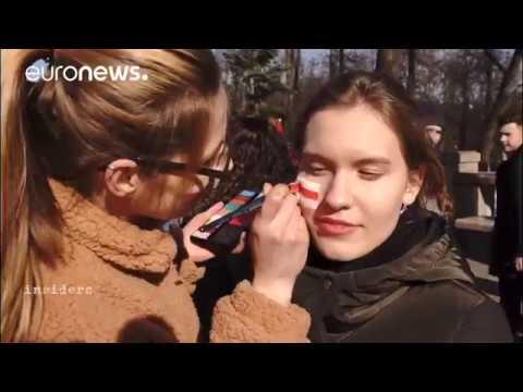 Перадача Euronews Insiders пра Беларусь і падзеі 25 сакавіка