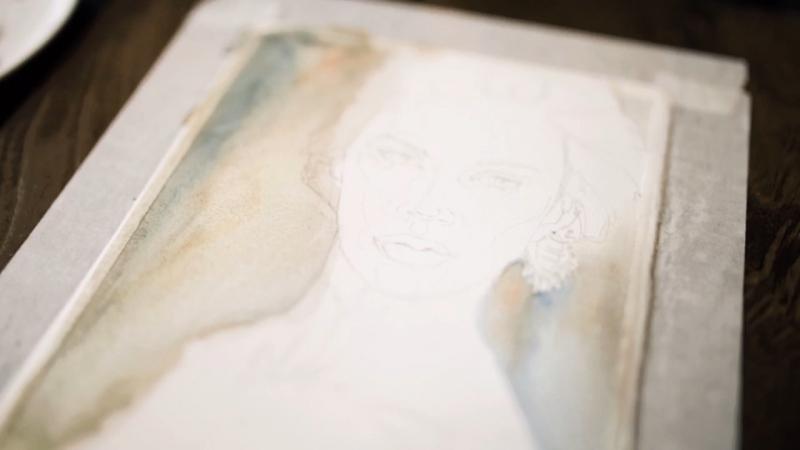 МК Акварельный портрет