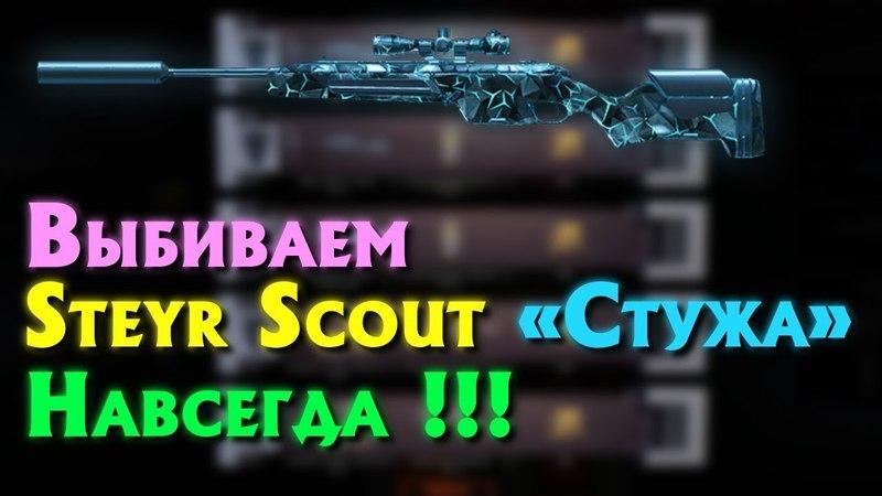 WARFACE : Выбиваем Steyr Scout «Стужа» !