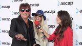 Richie Sambora and Orianthi Interview 35th Annual ASCAP Pop Music Awards Red Carpet