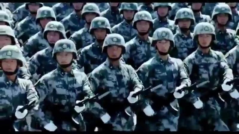 Китайцы.парад победы на Красной площади.mp4
