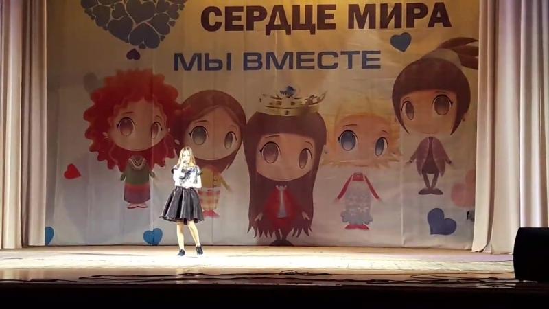 Ларионова Алина 12 лет Международный конкурс фестиваль Хрустальное сердце мира