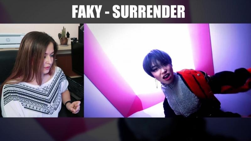 Реакция на FAKY - SURRENDER и FEMM - POW