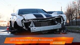 ДТП з розтрощеним Chevrolet Camaro у Білій Церкві