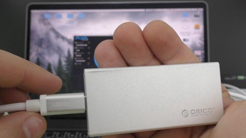ОБЗОР и ТЕСТ ORICO MSA-UC3 кейс карман переходник с mSATA SSD на Type-C USB 3.1 ► СКОРОСТЬ!