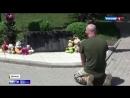 ВСУшник встал на колени перед памятником погибшим детям Донбасса