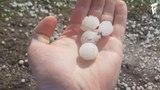 Гроза с градом в Саратове и Саратовской области | Thunderstorm with hail in Saratov region, Russia