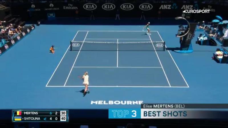 Australian Open Day 9 Top-5 Shots (vk.com/bettinggood23)