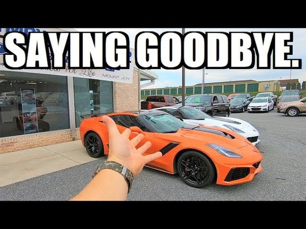 RETURNING My ZR1 to the Dealership... ZTK ZR1 has Arrived