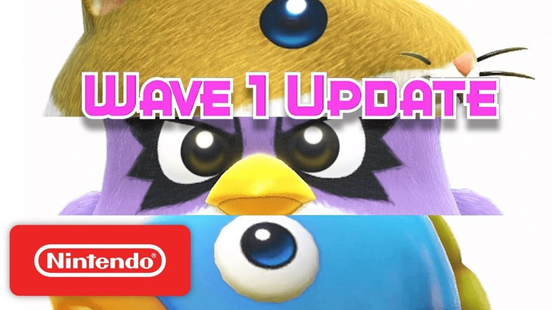 Kirby Star Allies: Rick Kine Coo Are Back! - Nintendo Switch